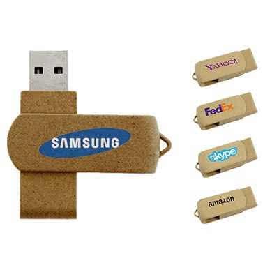 clé USB publicitaire biodégradable