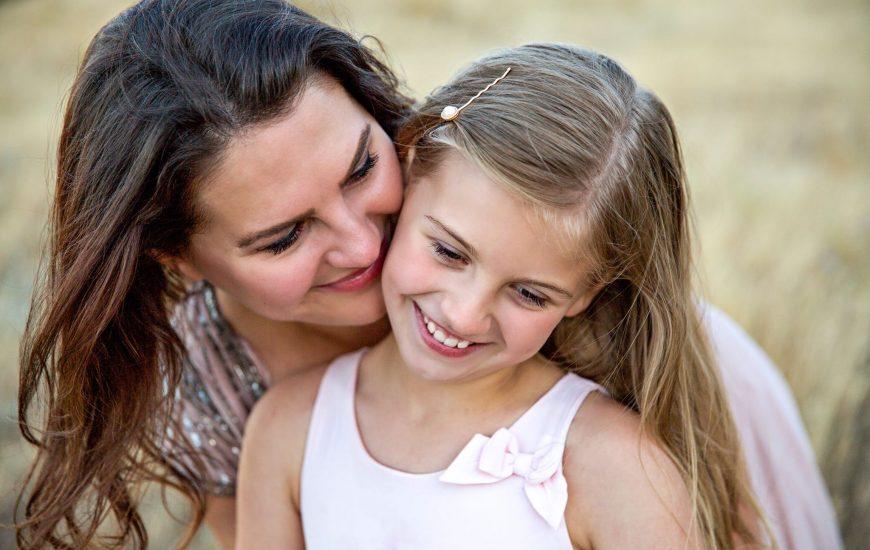 Maman et sa fille